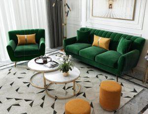 Ghế sofa vải giá rẻ