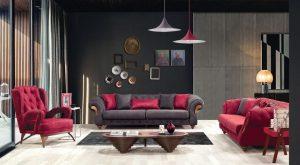 sofa băng biệt thự mã 089