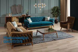 sofa băng dài gỗ cao cấp mã 056