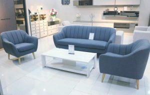 sofa băng màu xanh N5011