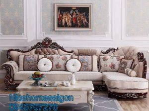 sofa tân cổ điển tại đồng nai mã 3023