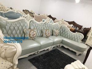 sofa tân cổ điển tại nha trang mã 3025