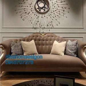xưởng sản xuất ghế sofa tân cổ điển mã 3070