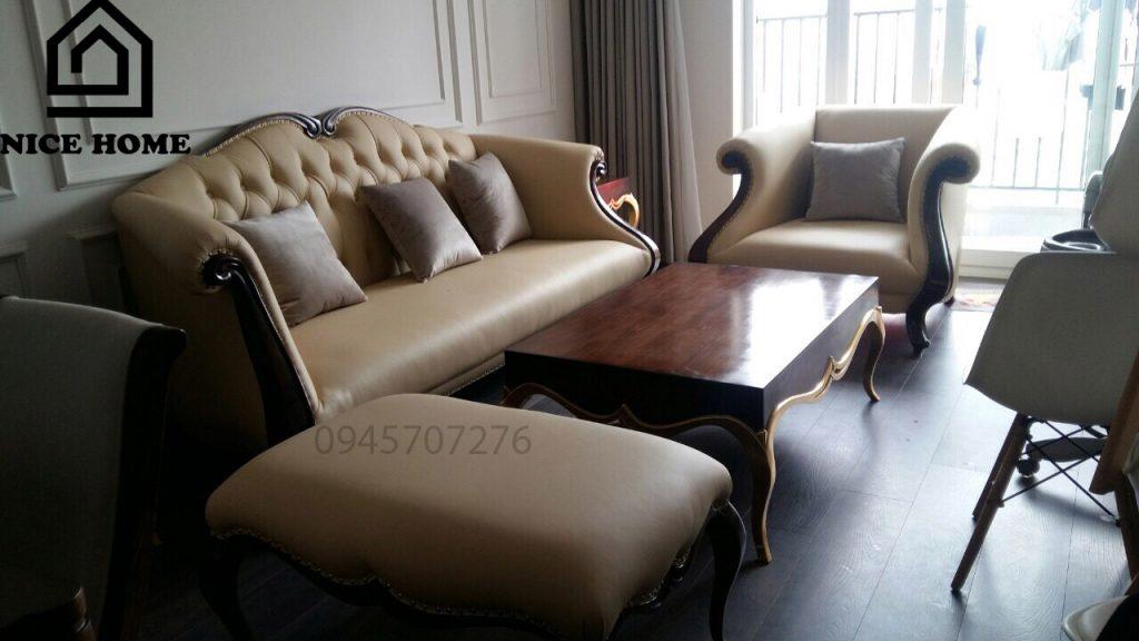 bàn ghế đẹp cho phòng khách nhỏ