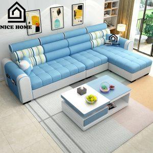 Bàn ghế sofa phòng khách NH019