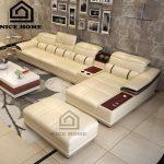 sofa tay gỗ đẹp