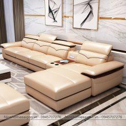 Sofa da giá rẻ NH2024-3